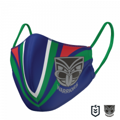 New Zealand Warriors KIDS Double Sided Face Mask