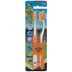Wests Tigers Toothbrush (Pack of Two)