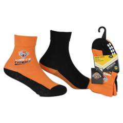 Wests Tigers Infant Socks (2 Pack)