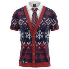 Sydney Roosters ADULTS Xmas Polo Shirt